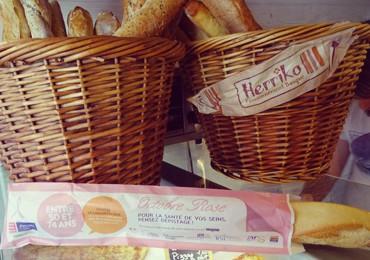 Octobre rose en sacs à pain