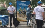 Conseil Départemental Loire Atlantique - Street marketing en Bike'Com et triporteur - NON STOP MEDIA Atlantique