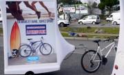 Décathlon - affichage mobile - street marketing - NON STOP MEDIA Atlantique