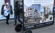 Diffusion street marketing et affichage mobile pour le Groupe Realites avec NON STOP MEDIA Rhône Alpes