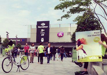 Vélo+ s'affiche en grand