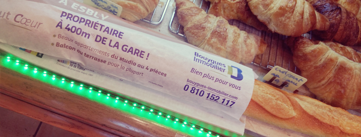 Bouygues Immo - Supports tactiques - NON STOP MEDIA Ile de France