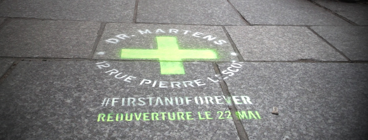 Dr. Martens - Médias tactiques - NON STOP MEDIA Île de France