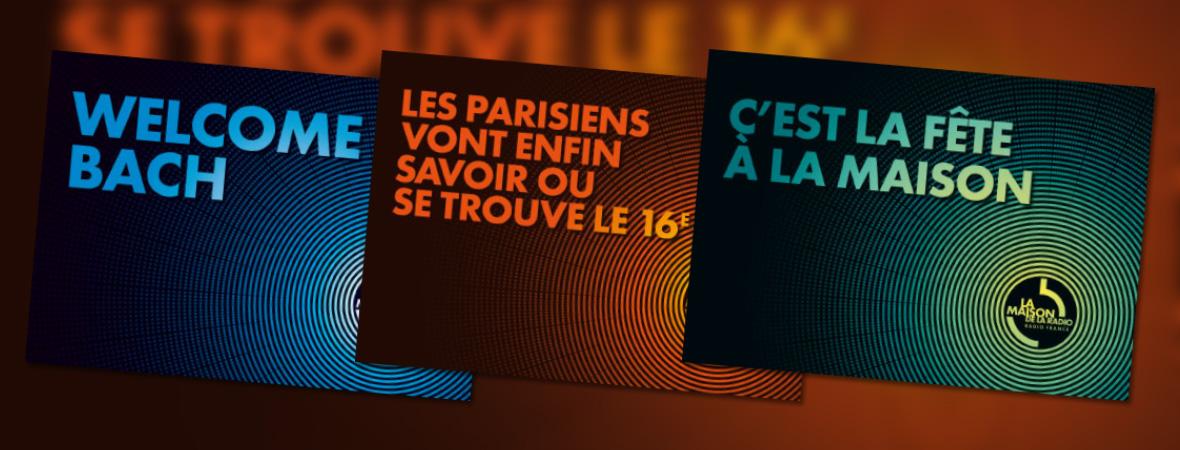 Maison de la radio - Cart'Com - NON STOP MEDIA Île de France