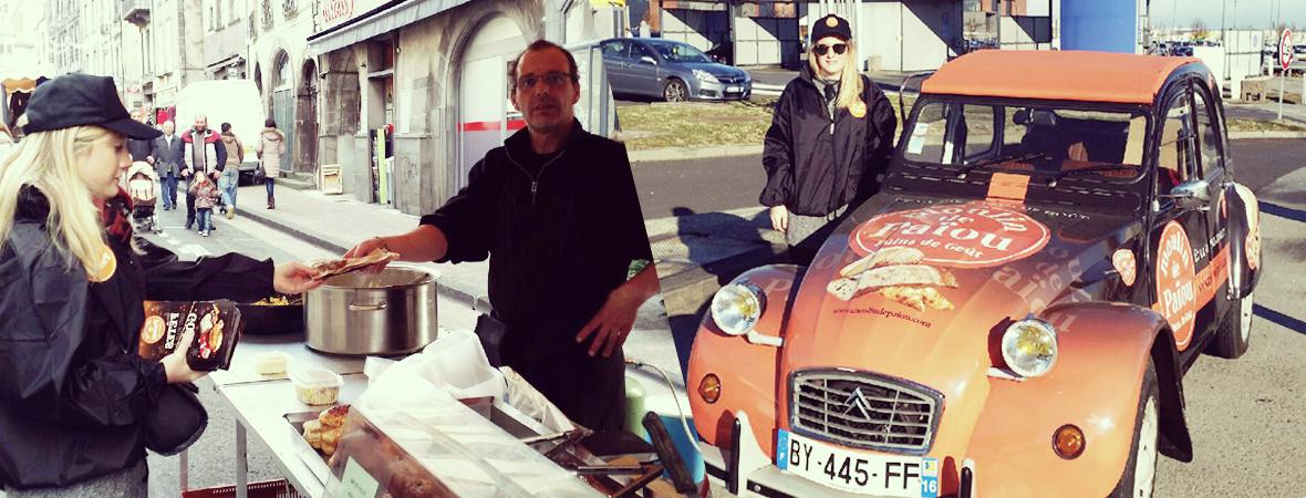 Moulin Paiou - Street Marketing -Affichage mobile - Groupe NON STOP MEDIA