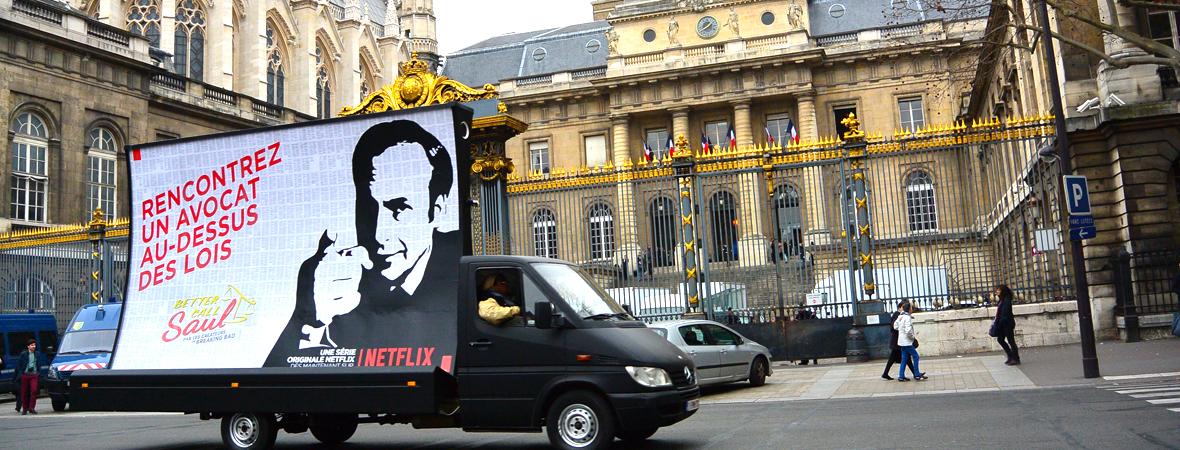 Netflix - Affichage mobile - NON STOP MEDIA Ile-de-France
