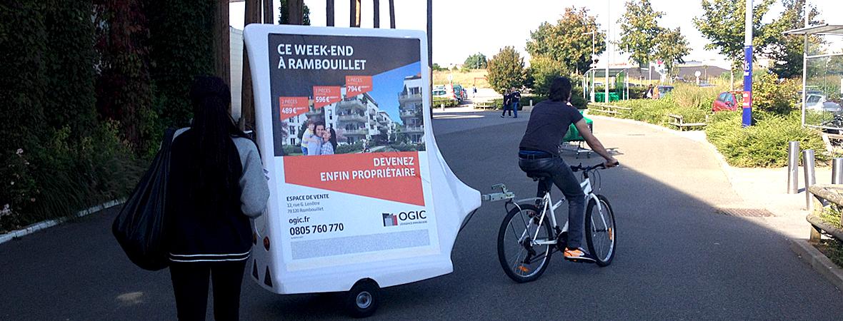 Ogic - Affichage mobile - NON STOP MEDIA Ile de France