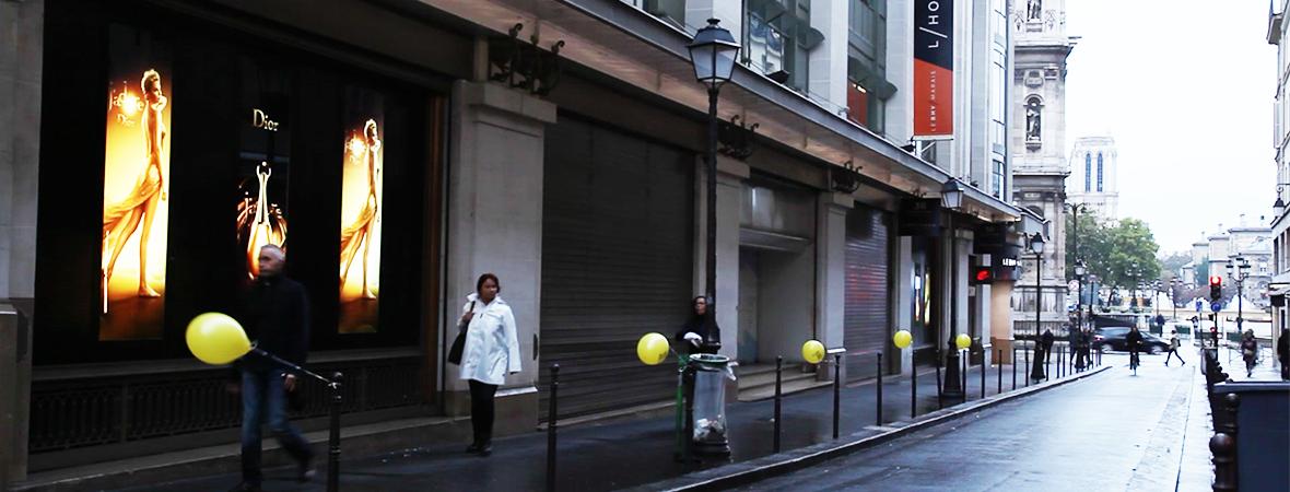 Visuel Ballet TUTU - Street Marketing - NON STOP MEDIA Ile de France