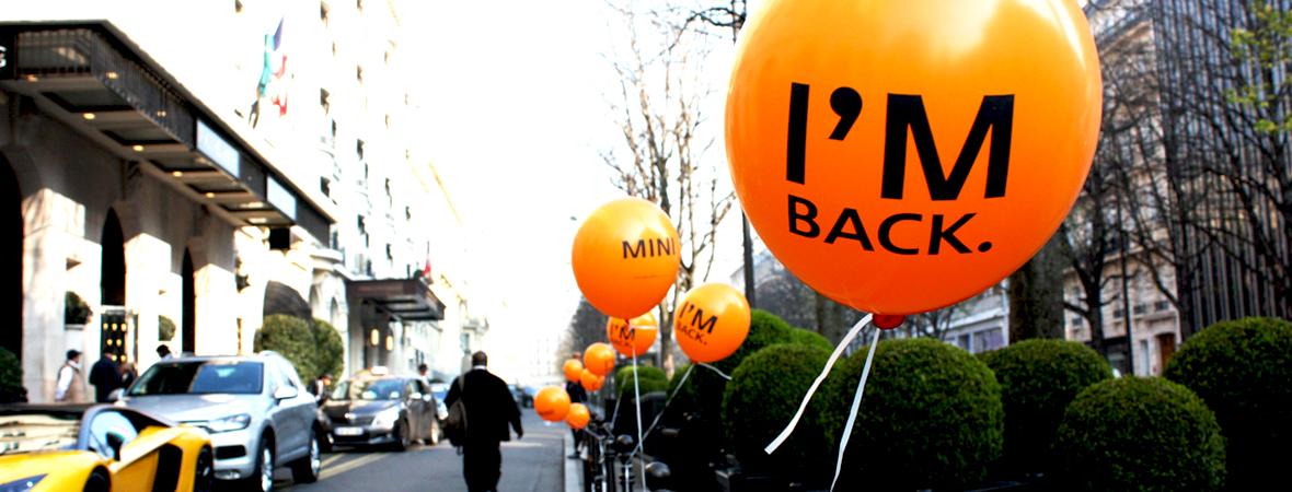 Mini - Street Marketing - Cart4COM - non stop media Ile de France