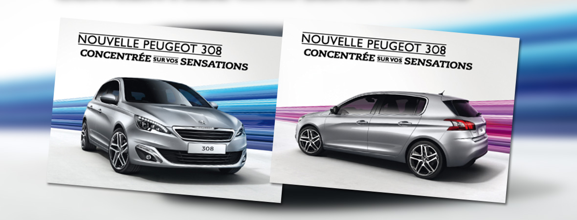 Peugeot 308 - Cart'Com - Groupe NON STOP MEDIA