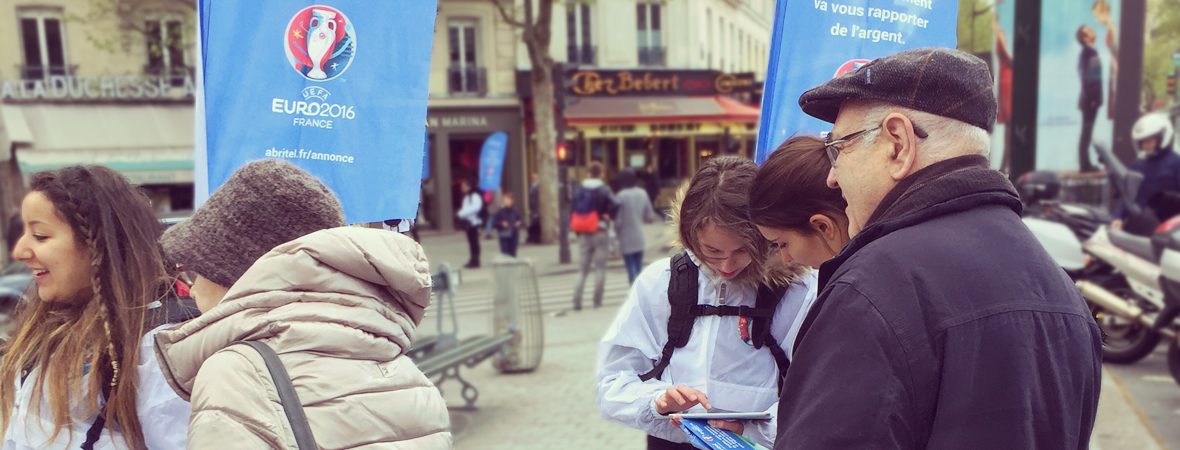 Trophy Tour - Street Marketing - Affichage mobile - Groupe NON STOP MEDIA