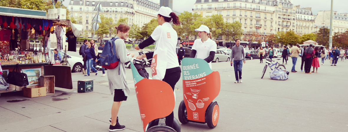 FFT - affichage mobile - street marketing - Groupe NON STOP MEDIA
