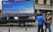 Diffusion street marketing et affichage mobile pour Abritel Homeaway avec Groupe NON STOP MEDIA