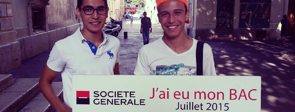 Société Générale - Street Marketing - NON STOP MEDIA PACA