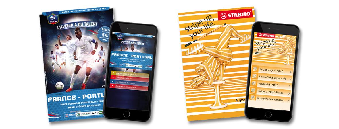 Smart'Cart 2.0 - QR Code, cart'com et l'appli mobile - NON STOP MEDIA Ile De France