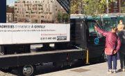 Emerige communique en affichage mobile Affi'LED - NON STOP MEDIA IDF