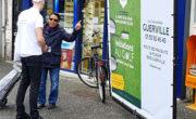 Bike'Com XXL pour le golf Green blue avec NON STOP MEDIA Île de France