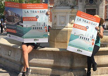 Pitch Promotion s'affiche à Marseille
