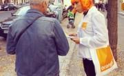 Orange - Street Marketing - NON STOP MEDIA Rhône Alpes