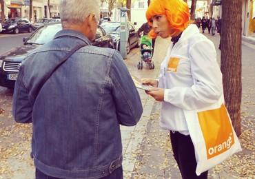 La fibre Orange dans la rue