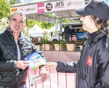 Diffusion SFR au Rallye Lyon Charbonniere