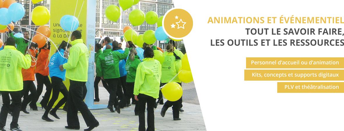 Recrutement de personnel - Animations événementielles et commerciales - NON STOP MEDIA Rhône Alpes