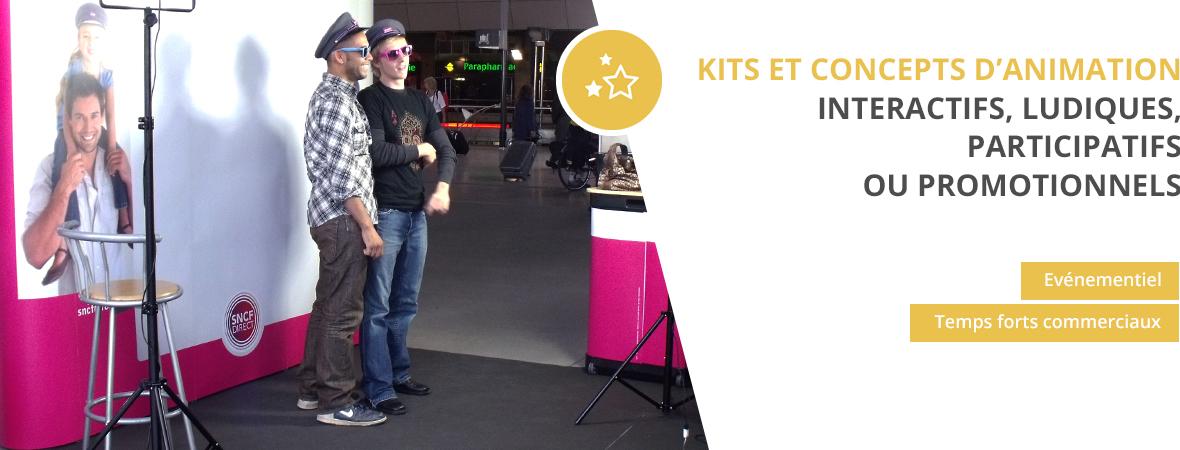 Concepts d'animation - Animations événementielles et commerciales - NON STOP MEDIA Rhône Alpes