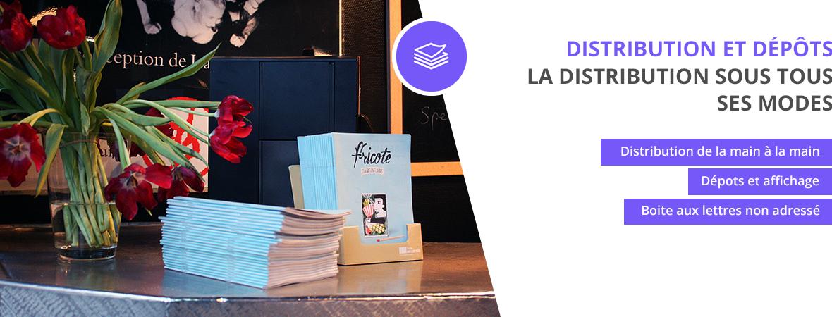 Diffusion et dépots de tracts et brochures dans les points de ventes - Distribution et dépots - NON STOP MEDIA Rhône Alpes
