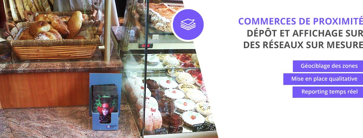 Dépôts et affichage dans les commerces de proximité - Distribution et dépots - NON STOP MEDIA Rhône Alpes