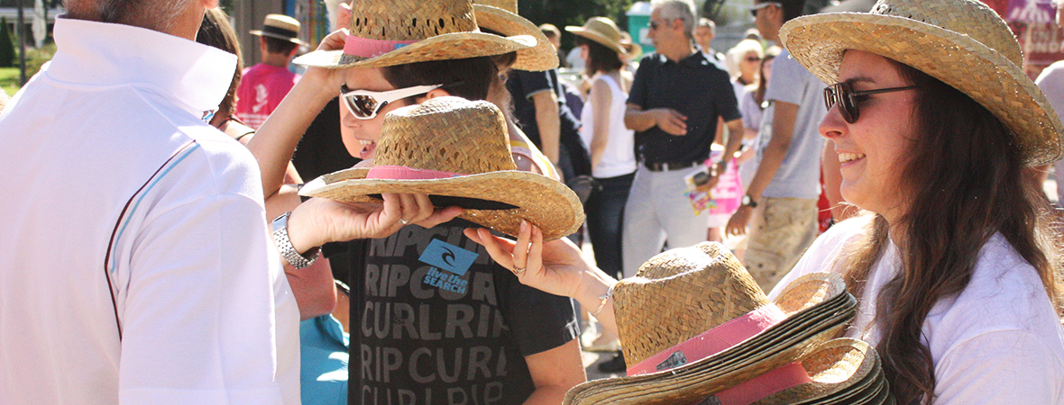 Distribution de goodies - street marketing - NON STOP MEDIA Rhône Alpes