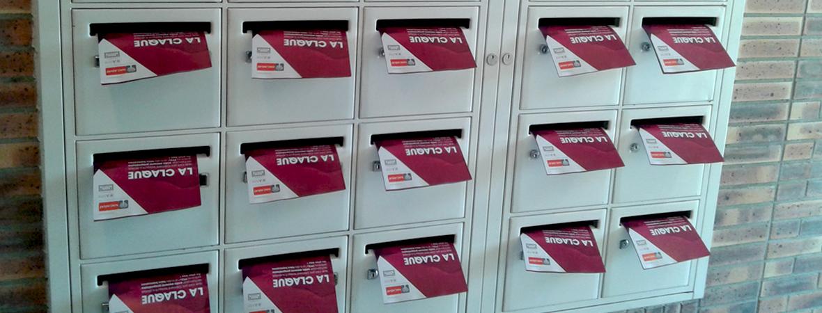 Nacarat - Dépôt et diffusion en boîtes aux lettres - Groupe NON STOP MEDIA
