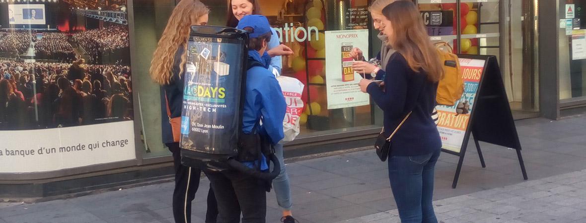 MacWay - Street Marketing - NON STOP MEDIA - Aquitaine