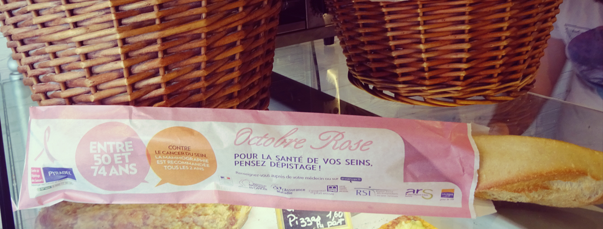 CPAM Octobre rose - Support tactique - NON STOP MEDIA Aquitaine