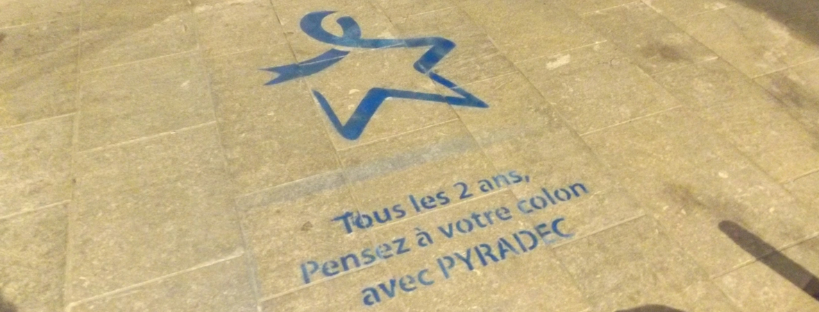 Pyradec - Street Marketing - NON STOP MEDIA Aquitaine