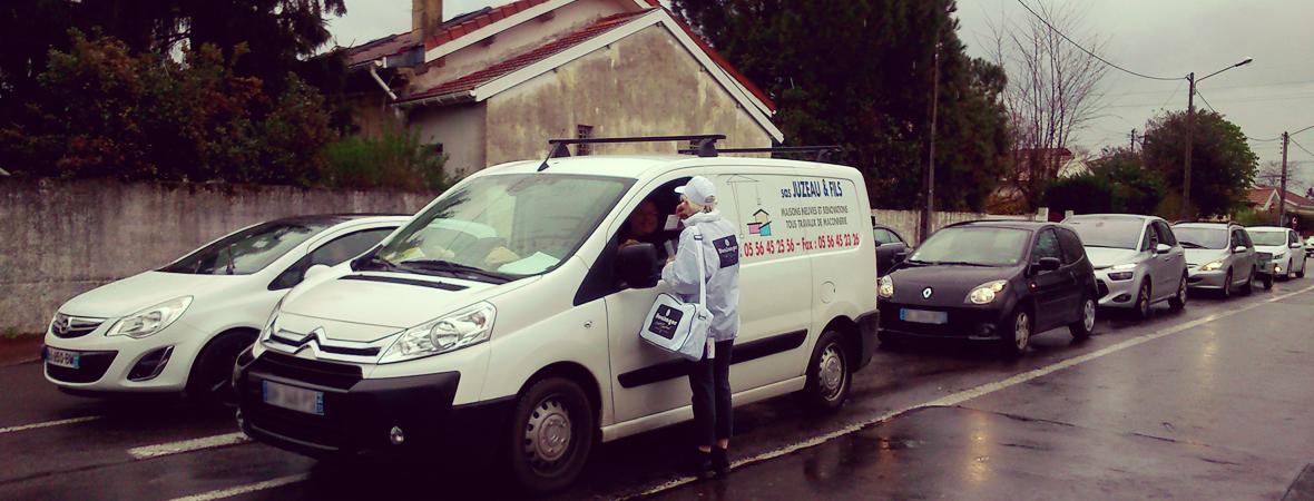 Chez le Boulanger - Street Marketing - NON STOP MEDIA Aquitaine