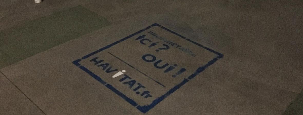 Affichage mobile et clean tag pour Havitat avec NON STOP MEDIA Aquitaine