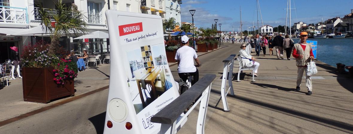 Villa O Retz - Street marketing - affichage mobile - Dépôt etr diffusion - NON STOP MEDIA Atlantique