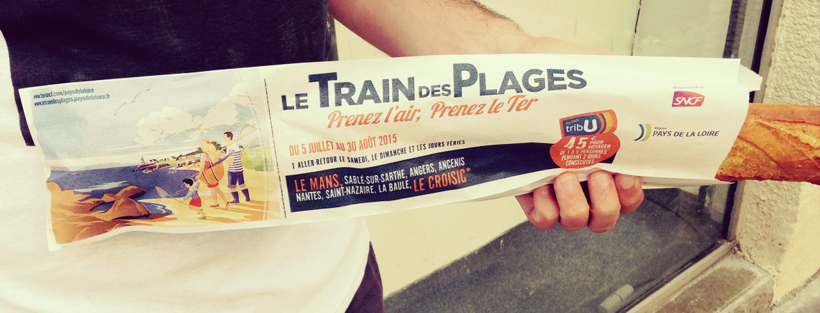 Train des plages - Support tactique - NON STOP MEDIA Atlantique