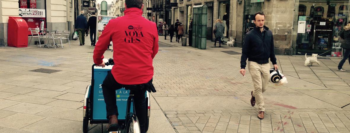 Saint nazaire - Street Marketing - Affichage mobile - NON STOP MEDIA Atlantique