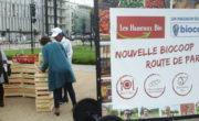 Vélo publicitaire pour Biocoop avec Bike'Com par Groupe NON STOP MEDIA