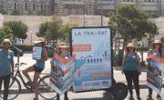 Affichage mobile Bike'Com par Groupe NON STOP MEDIA