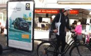 Affichage mobile pour Smart par Bike'Com par Groupe NON STOP MEDIA
