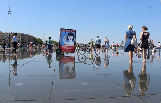 Le Bike'Com, le vélo publicitaire idéal en zone piétonne - Bike'Com, 1er réseau national de vélos publicitaires