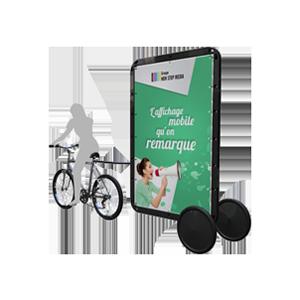 Format XL Affiche 2m2 par face - Bike'Com
