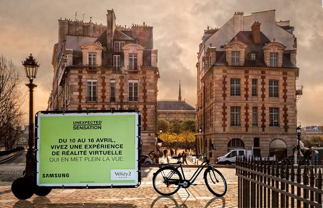 Le Bike'Com, le vélo publicitaire idéal en zone piétonne