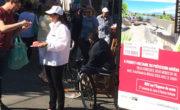 double affichage mobile Bike'Com par Groupe NON STOP MEDIA et Gumba pour Kauffmann & Broad