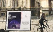 Vélo publicitaire et diffusion street pour le Grand Hotel Dieu avec Bike'Com
