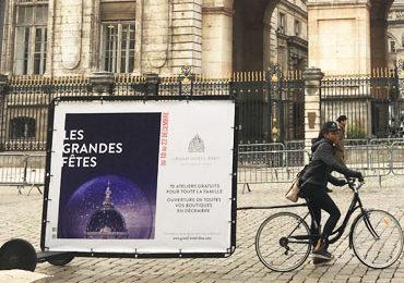 Bike et mur à voeux