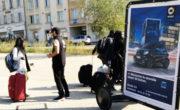 vélo publicitaire pour Smart avec Bike'Com