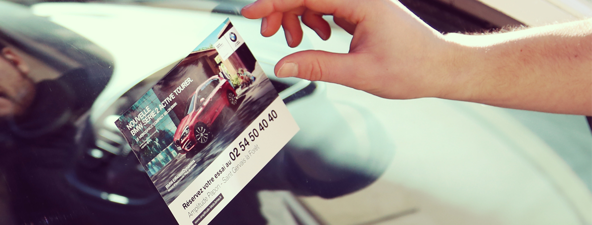 BMW - Street Marketing - Support tactique - NON STOP MEDIA Centre